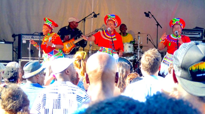 Gillett©DA14: South Africa's Mahotella Queens at Gillett Square, Dalston Lon N16 190714 © david.altheer@gmail.com