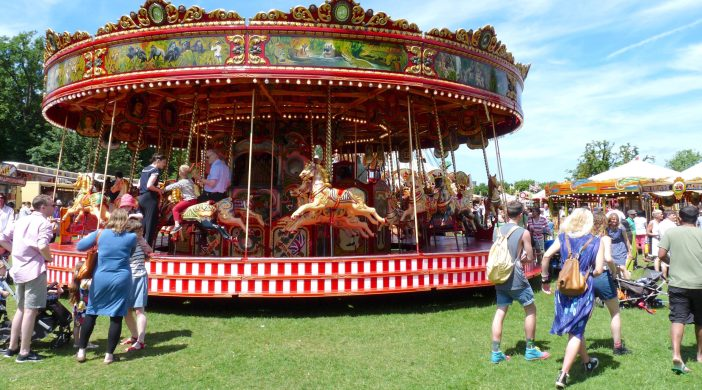 FAIR©DA13:© david.altheer@gmail.com CARTER'S STEAM FAIR AT CLISSOLD PARK LON N16 300613