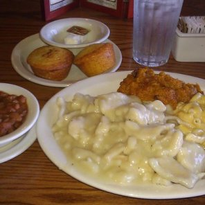 Cracker Barrel Chicken n' Dumplins Platter
