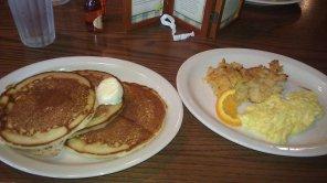 Cracker Barrel Momma's Pancake Breakfast
