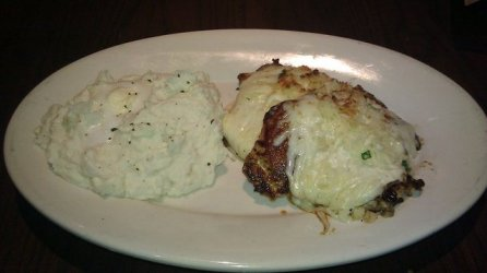 Parmesan Crusted Chicken at Longhorn Steakhouse