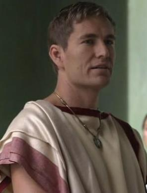 Publius Varinius from Spartacus