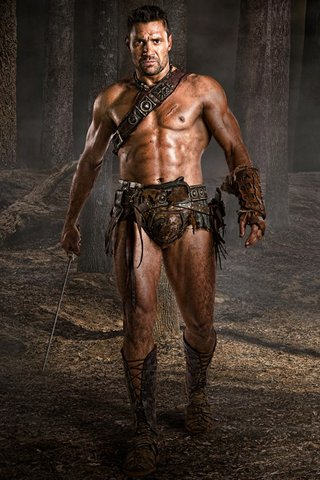Crixus from Spartacus