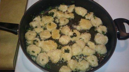 Mascarpone & Lemon Gnocchi
