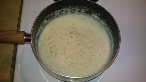 Garlic Roasted Grits
