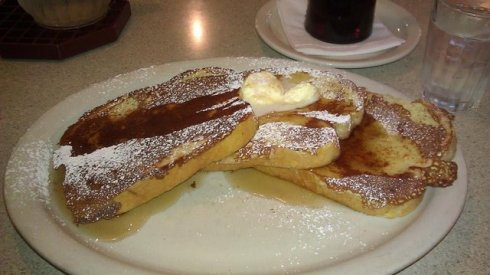 French Toast at the diner