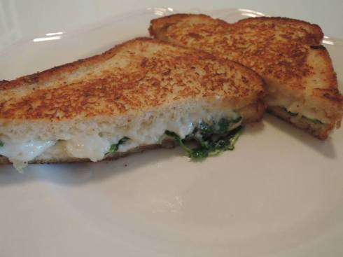 Drunken Goat Grilled Cheese