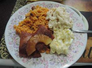 Puerto Rican cookin'.