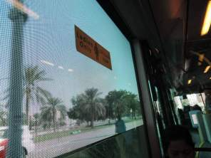 Abu Dhabi city bus