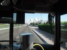 Abu Dhabi city bus