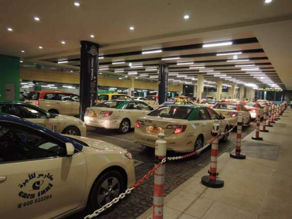 Dubai Mall taxis