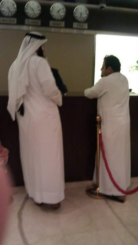 Arab men.