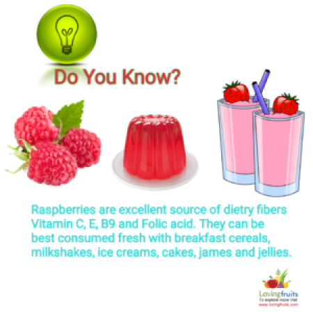 Red raspberry benefits