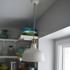 Kitchen Sink Pendant Light Wall Mount Faucets Ikea Over Cute Lamps For
