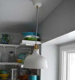 ikea pendant light over sink [ 3689 x 5049 Pixel ]