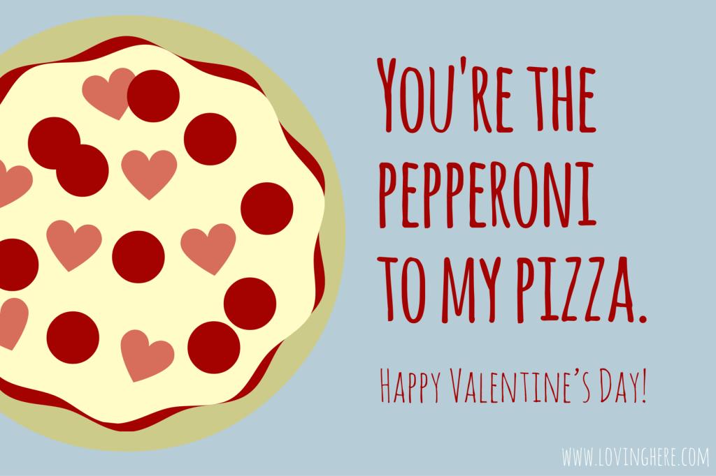 Sweet Treats Free Foodie Valentine Printable Cards