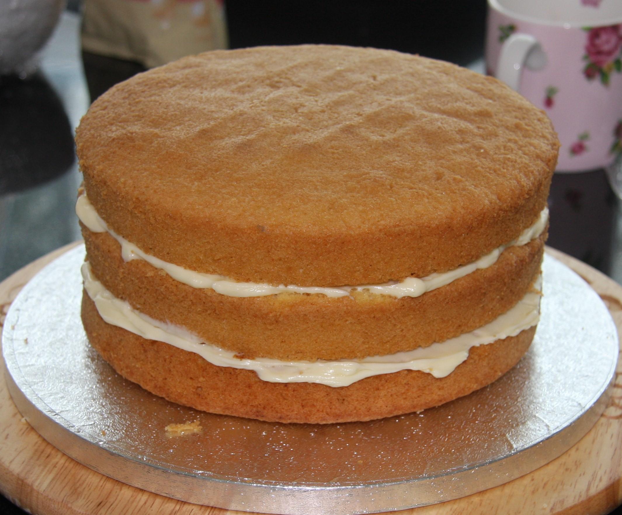 Vanilla Sponge Cake Recipe Birthday
