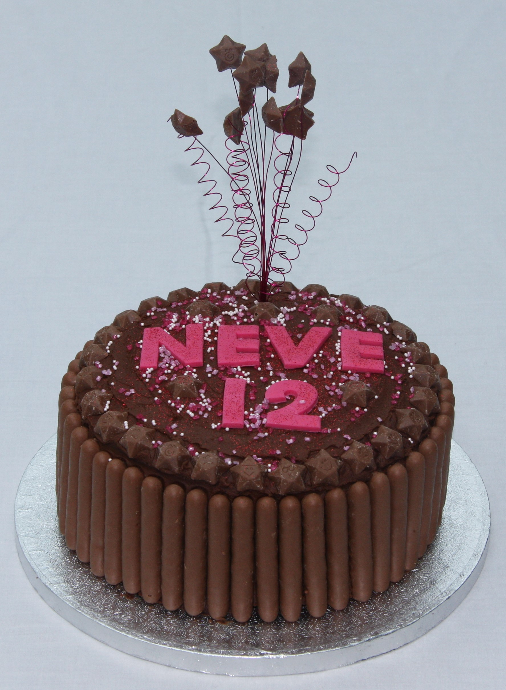 Chocolate Birthday Cakes Variations On A Theme