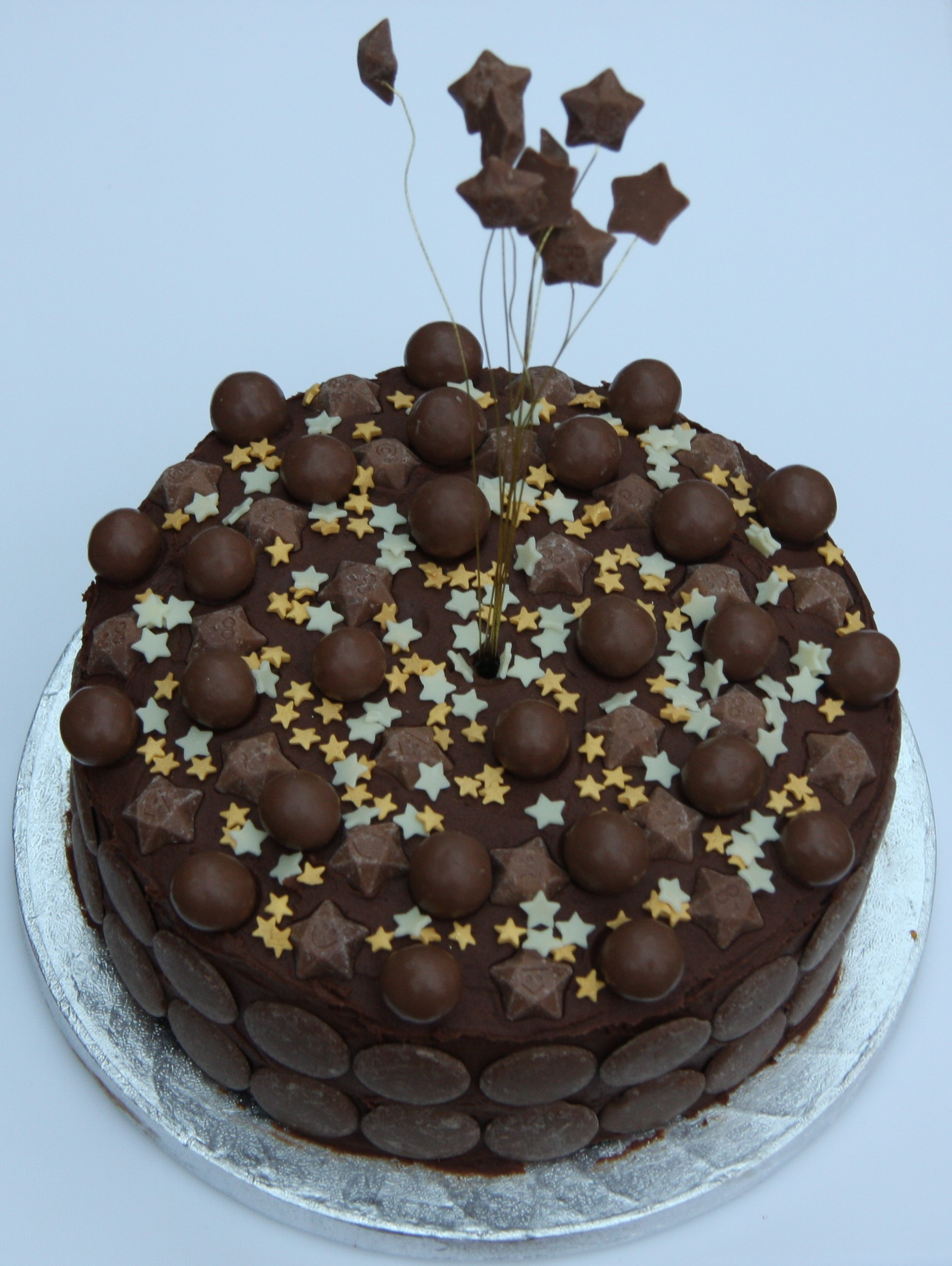 Chocolate Birthday Cake For Kids And Chocolate Lovers
