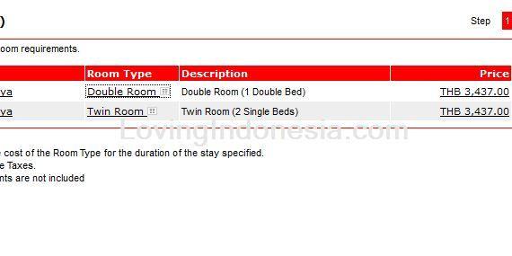 Jasa Pembayaran Booking Tune Hotels - Select Rooms
