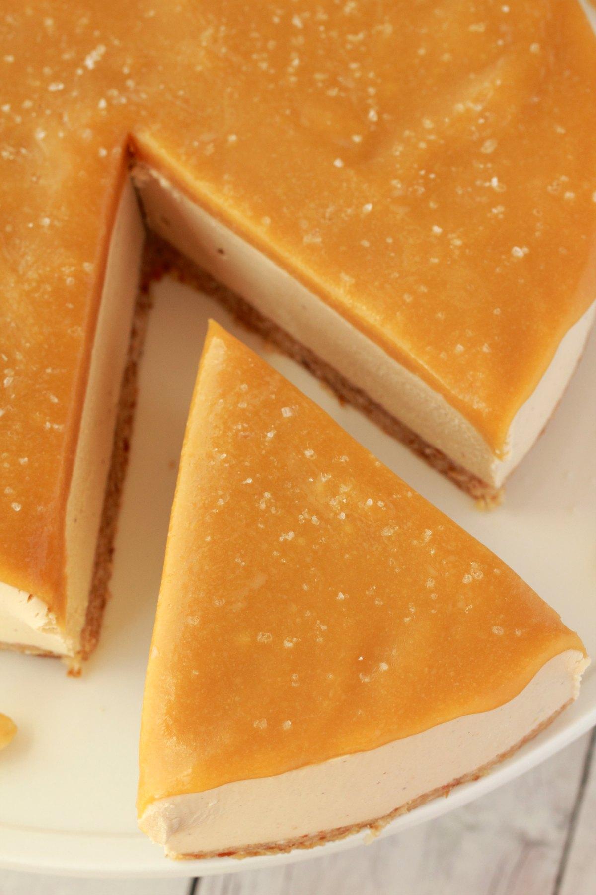 Salted Caramel Fudge Cake