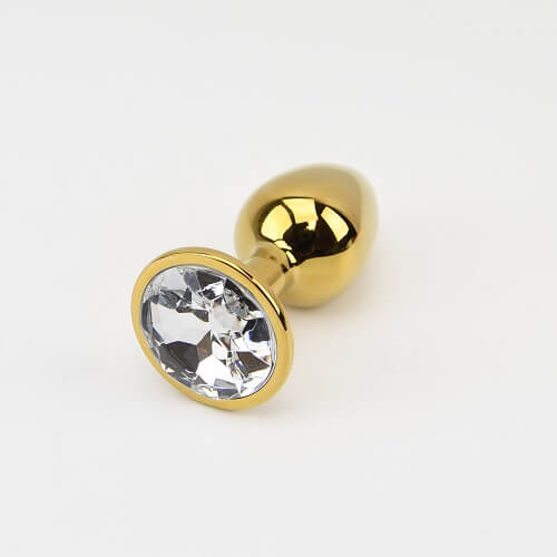 Precious Metals Small Gold Butt Plug