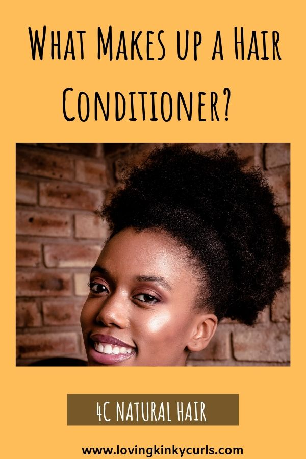 4C Natural Hair Conditioner Basics