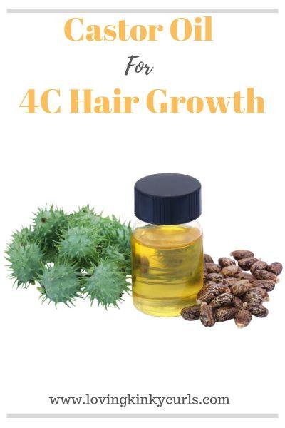 Castor Oil for 4C Hair Growth