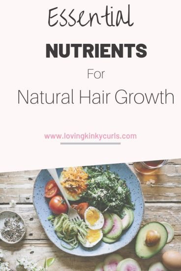 best nutrients for natural hair growth