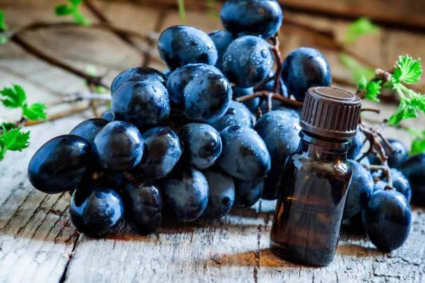Grapeseed Oil for natural hair growth