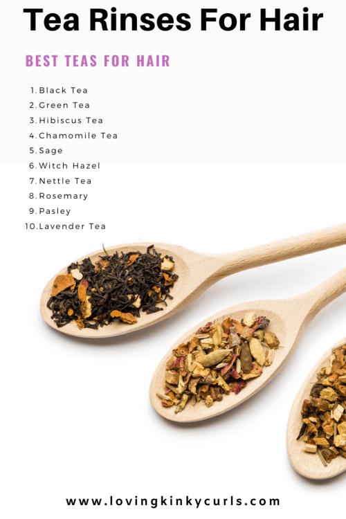 Tea Rinses For Hair