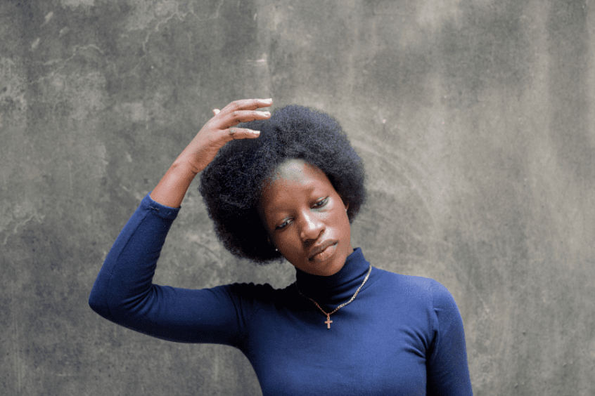 how to wash 4c hair in sections