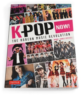 review Kpop now The Korean Music Revolution Mark James Russell book front cover