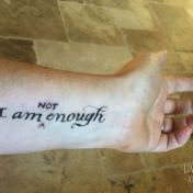 I am NOT enough... and why it's liberating to admit it