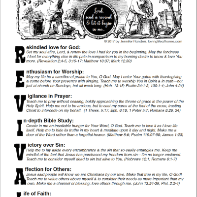 A Prayer for Revival