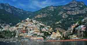 Positano, on the Amalfi Coast