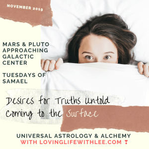 Desires for Truths Untold Surface with Mars & Pluto