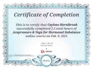 Acupressure & Yoga for Hormonal Imbalances