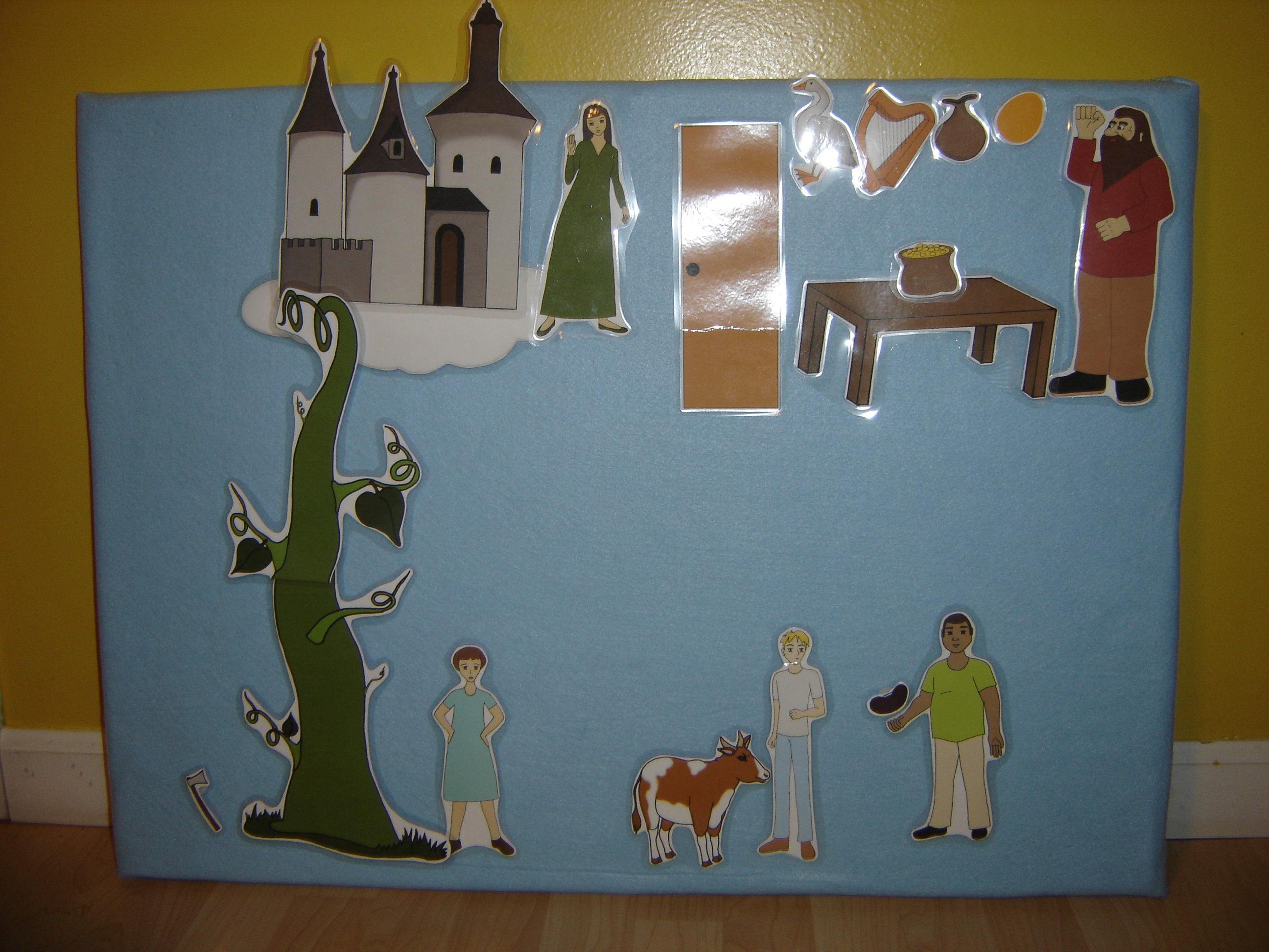 Jack And The Beanstalk Unit Free Printable Puppets