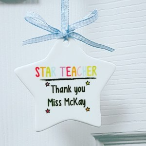 Star teacher keepsake