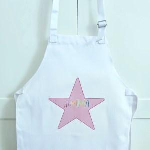 Personalised Star Apron