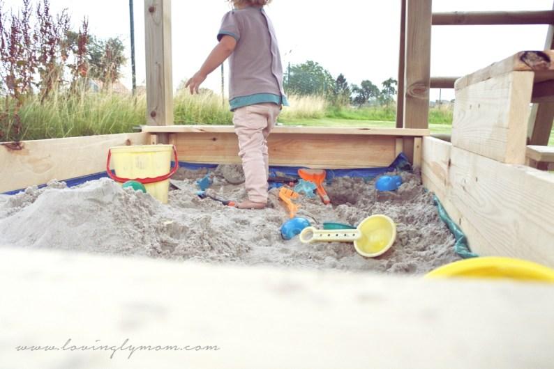 Un bac à sable