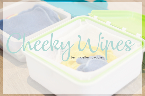 Les lingettes lavables Cheeky Wipes