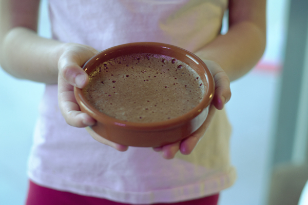 Mousse au chocolat Toblerone