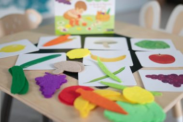 Mes fruits et légumes en feutrine Montessori
