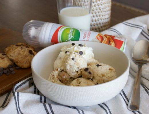 Glace maison cookie Campina
