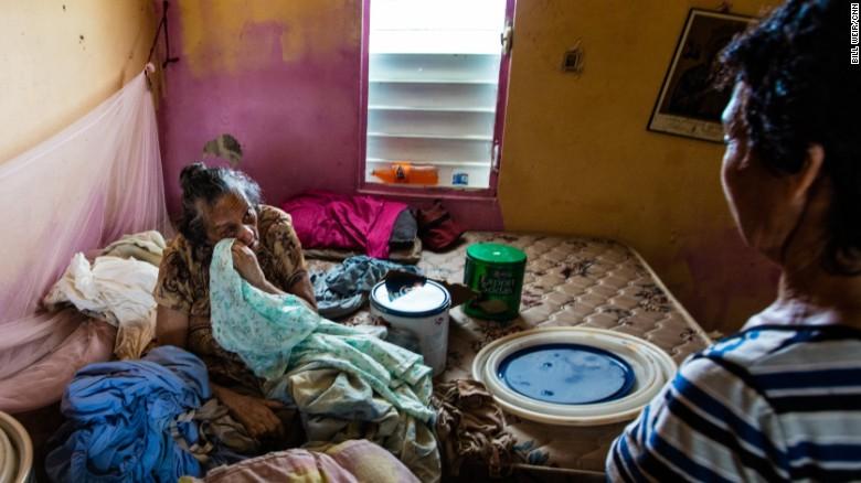 Puerto rico grandmother suffering
