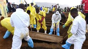 Sierra Leon burial from landslides