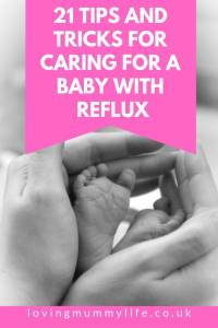 Reflux baby tips and tricks