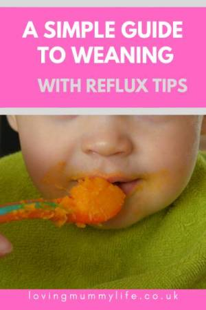 Weaning a Reflux Baby
